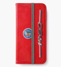 Alfa Romeo 1750 Badge iPhone Wallet/Case/Skin