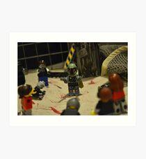 Boba Fett on Z Day Art Print