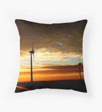 Templederry Lane Sunrise. Throw Pillow