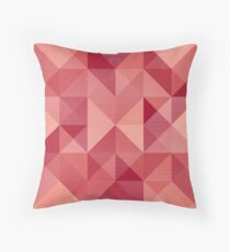 Hatched Module #1 Throw Pillow