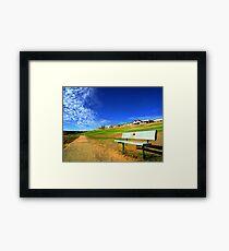 Take A Sit Framed Print