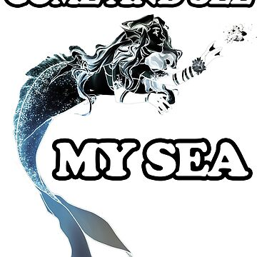 Come and see my sea. A nice picture of a space mermaid will attract people's admiring glances by BuLLGam