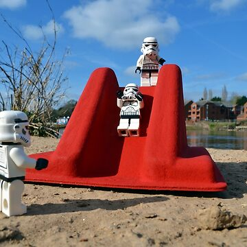 Stormtroopers Day Off by maxhornewood