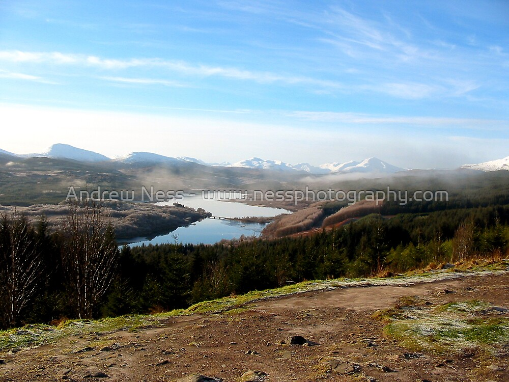 Loch Garry by Andrew Ness - www.nessphotography.com