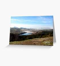 Loch Garry Greeting Card