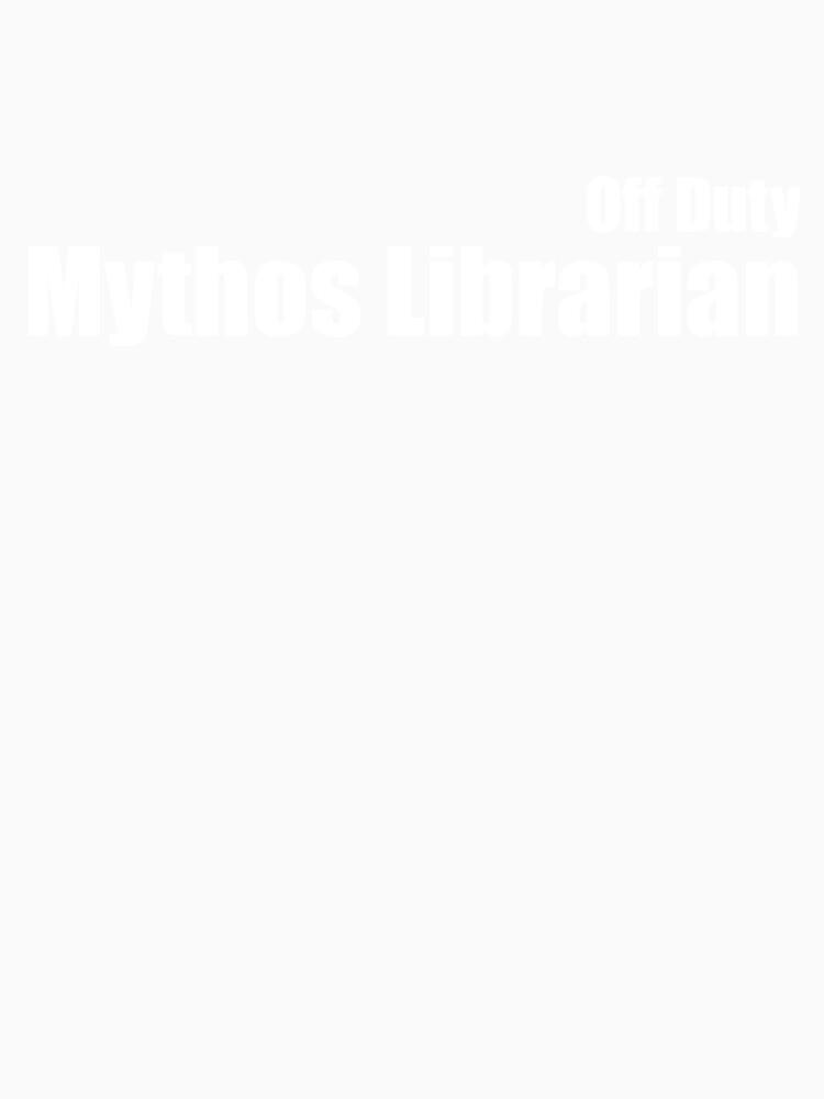 Off Duty Mythos Librarian by GeekNative