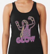 Glow Wrestling Racerback Tank Top