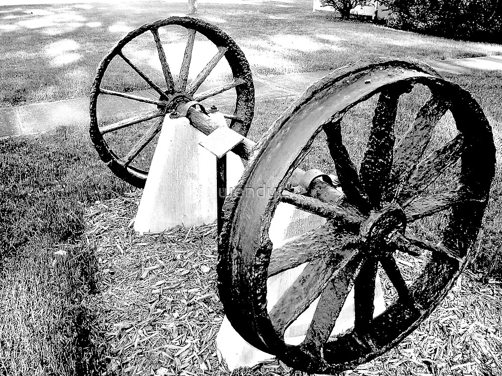 wheels of the past by wendyL