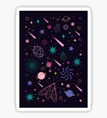 Bug Galaxy  Sticker