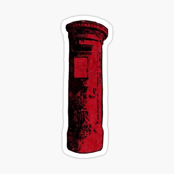 British Postbox Sticker