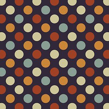 Retro Polka Dots by ChunkyDesign