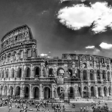 Cloud over the Colosseum by paulmcnam