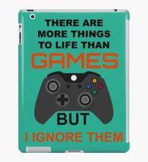 games iPad Case/Skin