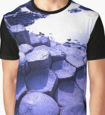 Stones of Ireland Blue Graphic T-Shirt