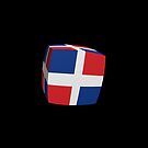 Dominican Republic Flag cubed. by stuwdamdorp
