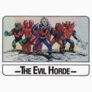 He-Man - The Evil Horde - Trading Card Design by DGArt