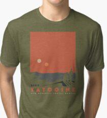Visit Tatooine Tri-blend T-Shirt
