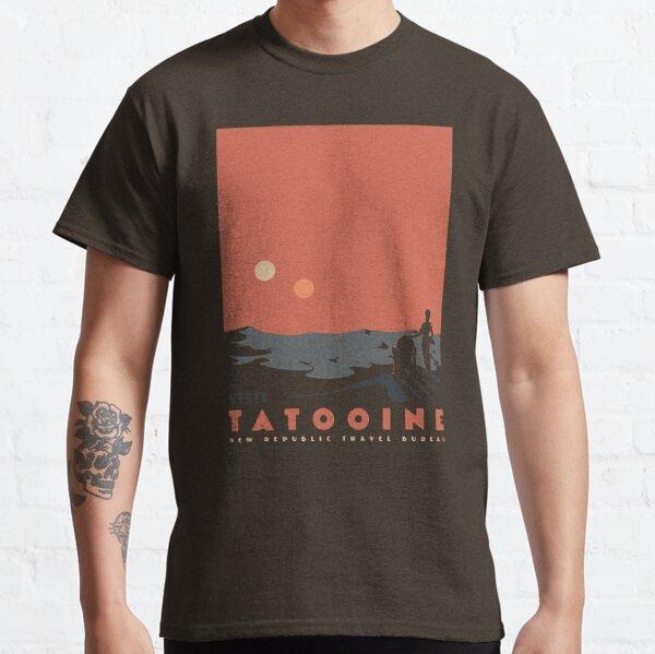 Besuchen Sie Tatooine Classic T-Shirt