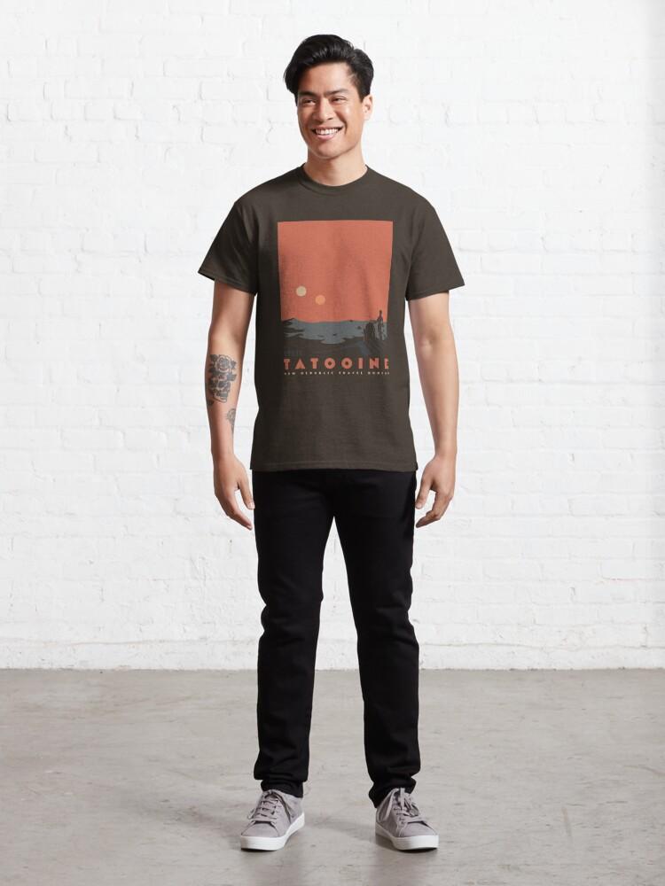 Alternate view of Visit Tatooine Classic T-Shirt