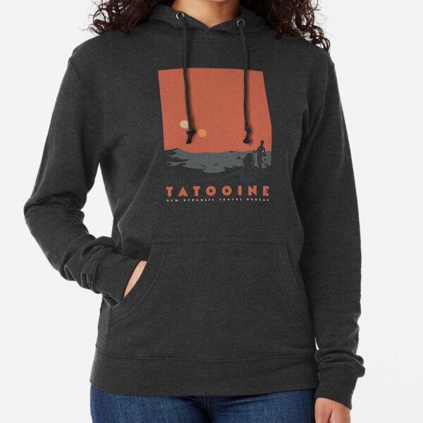 Visit Tatooine Lightweight Hoodie