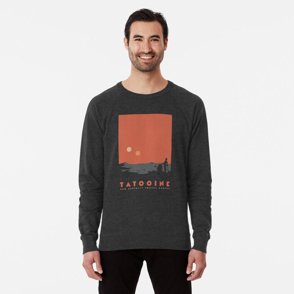 Visit Tatooine Lightweight Sweatshirt