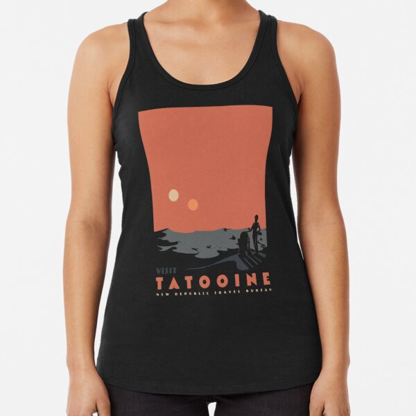 Visit Tatooine Racerback Tank Top