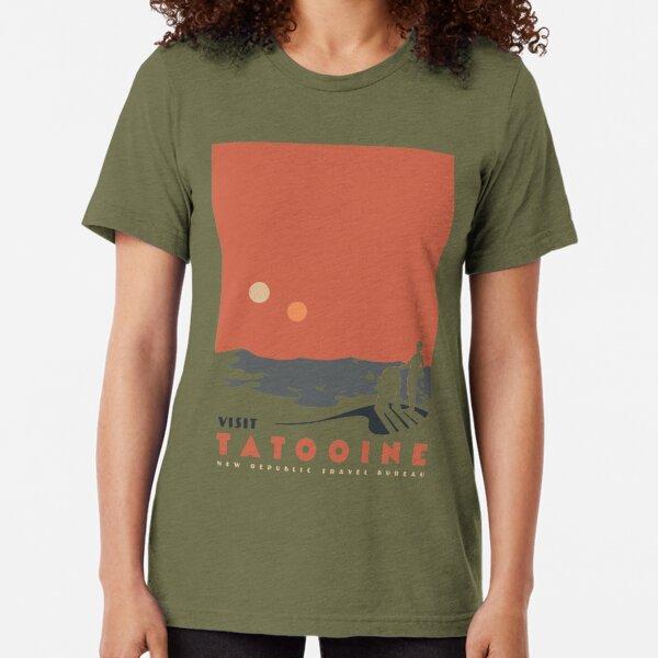 Besuchen Sie Tatooine Vintage T-Shirt