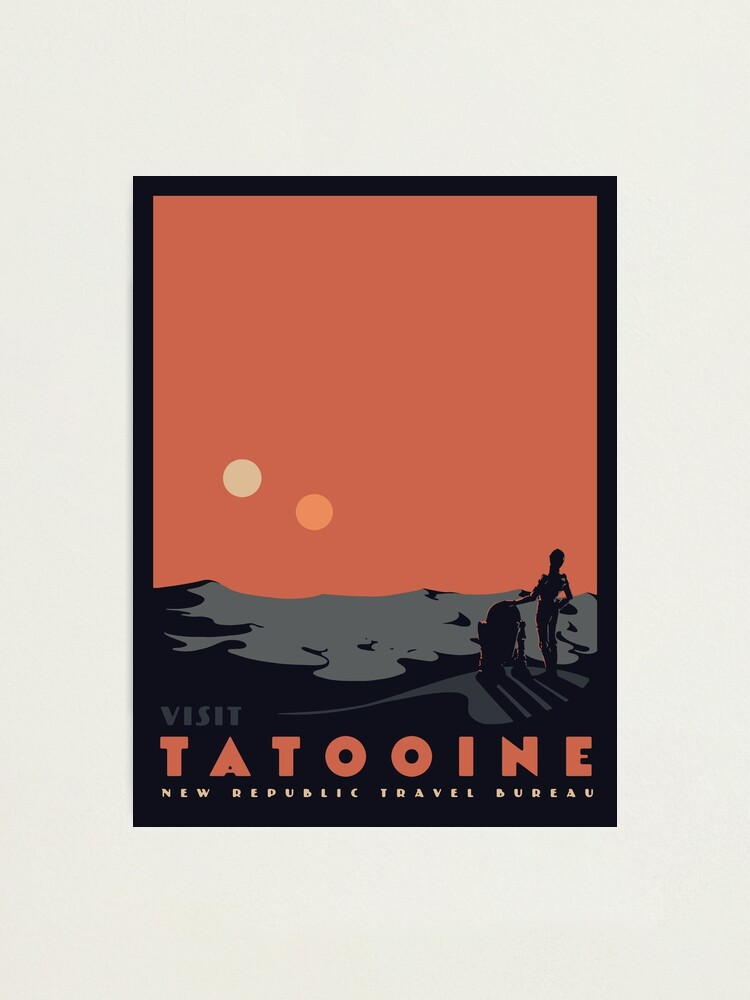 Alternate view of Visit Tatooine Photographic Print
