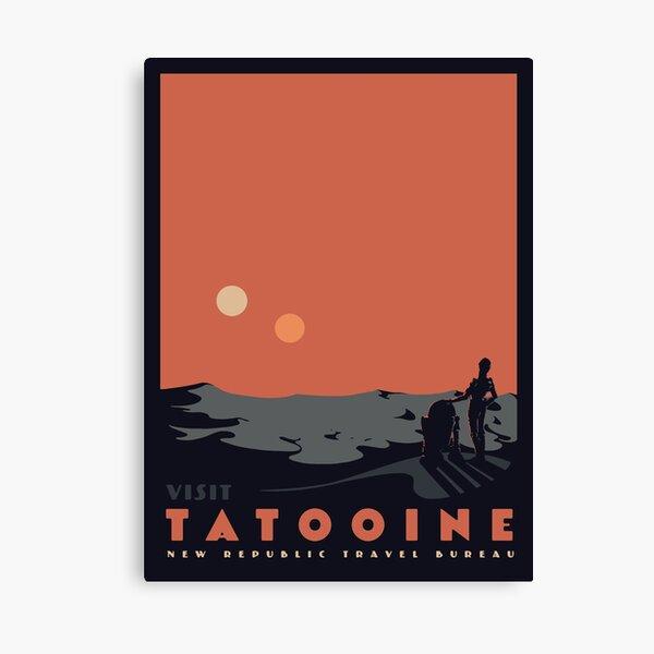 Visita Tatooine Lienzo