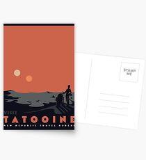 Visit Tatooine Postcards