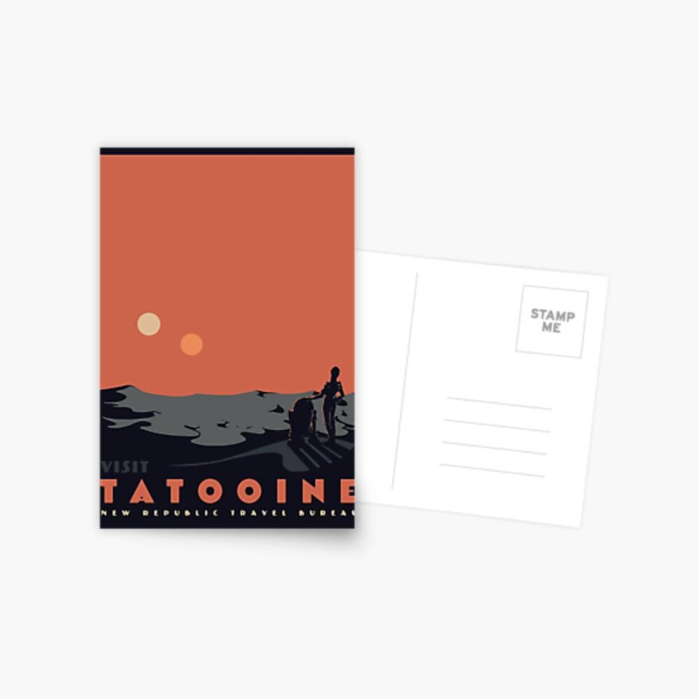 Visit Tatooine Postcard