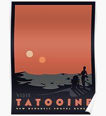 Visit Tatooine Poster