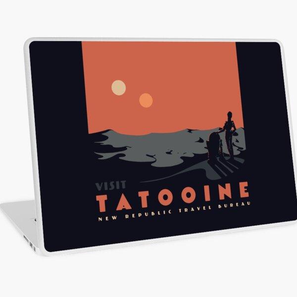 Besuchen Sie Tatooine Laptop Folie