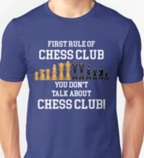 Chess Funny Design - First Rule Of Chess Club T-Shirt