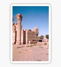 Temple of Dendera, No. 4 Sticker