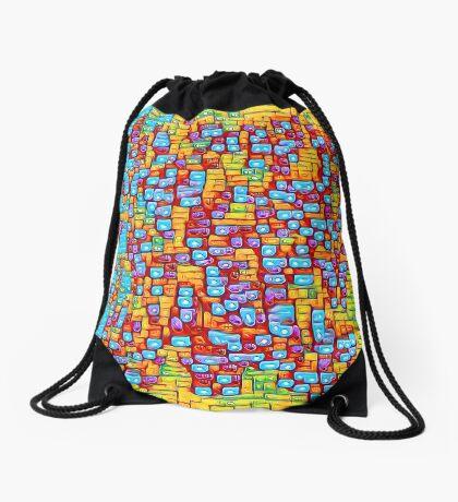 SkyBlue 22% Drawstring Bag