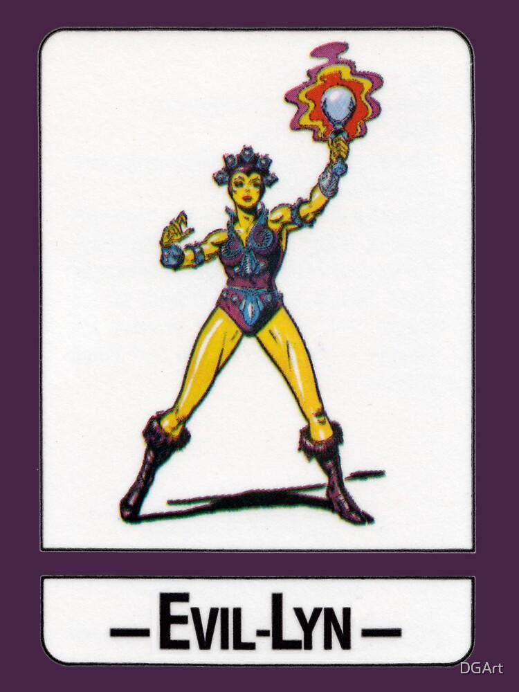 He-Man - Evil-Lyn - Trading Card Design by DGArt