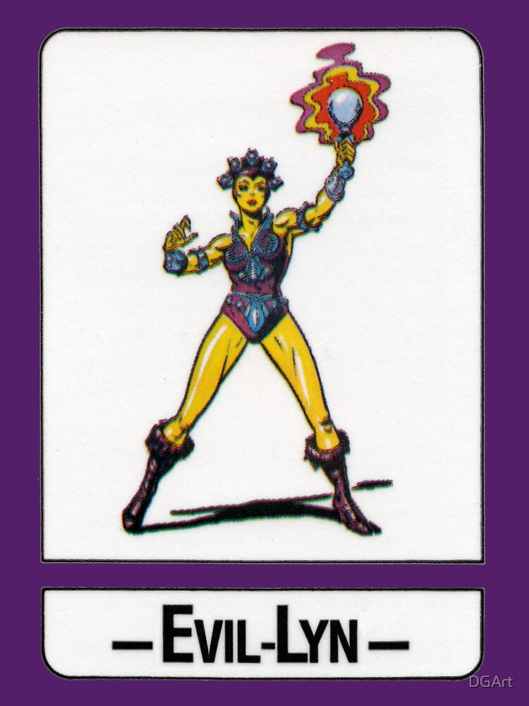 He-Man - Evil-Lyn - Trading Card Design by DGArt
