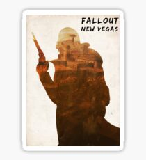 Fallout New Vegas - Ranger in Freeside Sticker