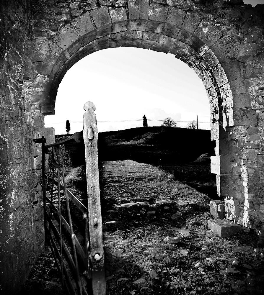 abbey gate by Alma Ní Chuinn