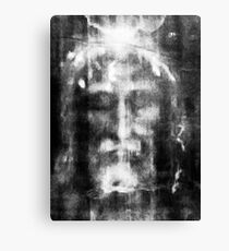 Shroud of Turin, Turin Shroud, Christianity, Christian, Icon, Bible, Biblical, Resurrection, Canvas Print