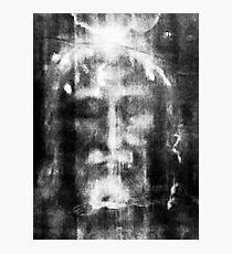 Shroud of Turin, Turin Shroud, Christianity, Christian, Icon, Bible, Biblical, Resurrection, Photographic Print
