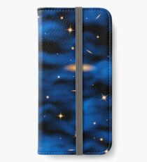 Space nebula background. iPhone Wallet