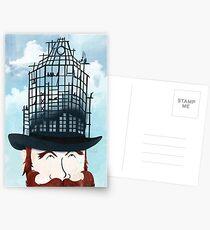 Top Hat Construction Postcards