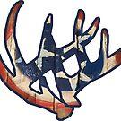 «Cornamentas de los ciervos de Tennessee Nashville» de Statepallets