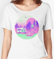 Outer Space Camping Women's Relaxed Fit T-Shirt
