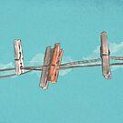 Boho Clothespin von schwebewesen