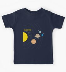 Solar System Planets Kids Clothes