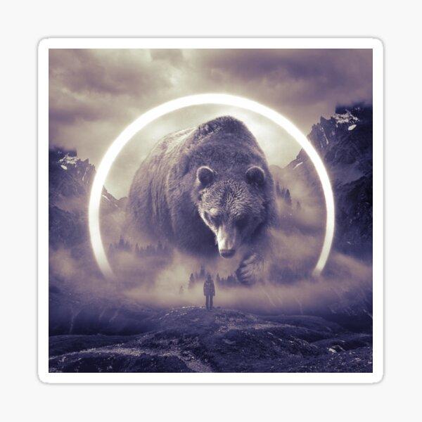 aegis II   bear Sticker