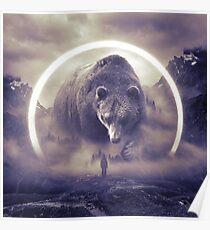 aegis II | bear Poster